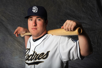 Jedd Gyorko should have a spot on the Opending-Day roster in 2013.