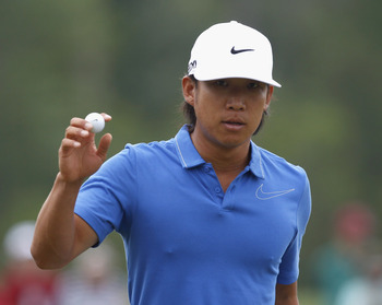 Anthony Kim has battled much through the early years of his golf career.
