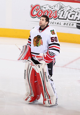 Corey Crawford recorded no shutouts last season after recording four in the 2010-2011 season.