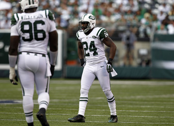 Revis Island will certainly have its share of visitors, but Darrelle has to make sure that no one gets off the island.
