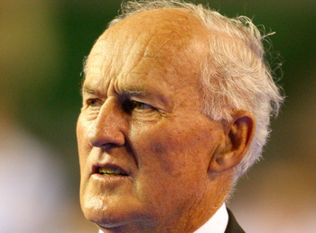 Neale Fraser carried Rod Laver to the 1959 Davis Cup title.