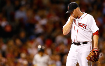 Aaron Cook is simply playing out the string in a forgettable season for the Boston Red Sox and their fans.