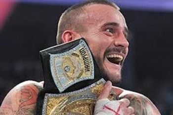 WWE Champion CM Punk for 365+ days? Image by WWE
