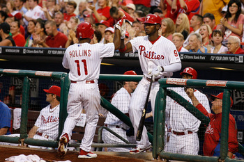 As Jimmy Rollins nears the end of his career, Domonic Brown is hoping his is just beginning.