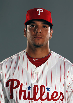 Sebastian Valle, the Phils stud catching prospect, is just one of a handful of players that point to a great future for the Phillies.