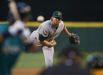 Focus on grabbing Oakland Athletics pitcher A.J. Griffin for the stretch run.