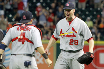 Chris Carpenter's performance last October should give you confidence to trust him this September.
