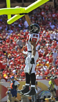 Tony Gonzalez had 53 receiving yards in Week 1.