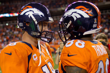 With Peyton Manning as Demaryius Thomas' new quarterback, expect him to get thrown to more often.