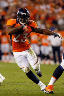 McGahee is coming off a bad Week 1 in which he only rushed for 64 yards.