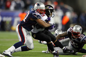 RB Ray Rice is an elite offensive option. The Pats have to shut him down.