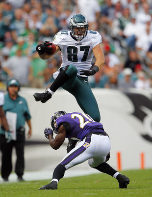 Celek's value is rising at the apparent expense of Jeremy Maclin's.