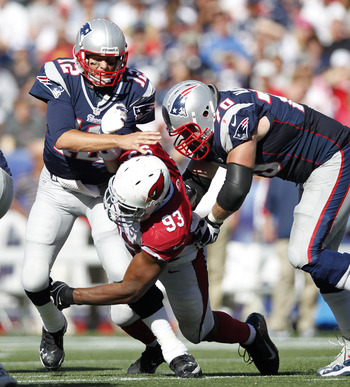 Calais Campbell and the Cardinals defense pulled a shocker in Foxboro Sunday.