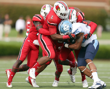 The Lousiville Cardinals barely hung on to beat the North Carolina Tar Heels in Week 3.