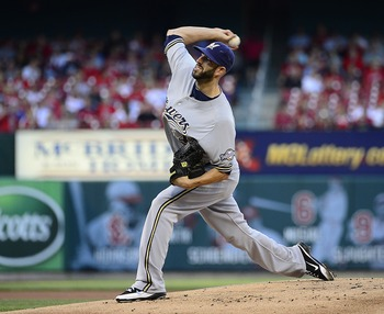 The Brewers young pitching corps of Mike Fiers, Mark Rogers and Wily Peralta could have a huge impact in 2013.