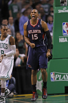 Al Horford's fluke injury is behind him.
