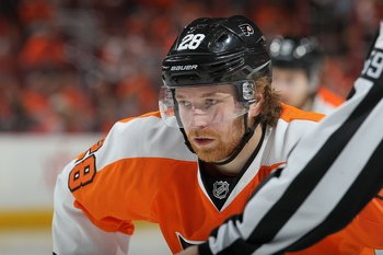 Maybe Giroux's new team will have orange and black too? Okay probably not
