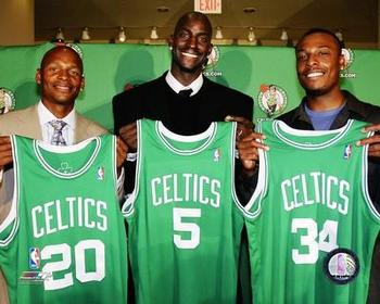 The Big Three era at its start