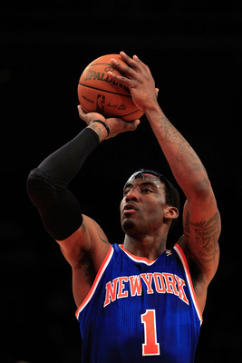 New York Knicks power forward Amar'e Stoudemire.