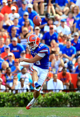 Caleb Sturgis is Florida's unsung weapon.