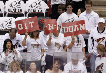 Doan is beloved by the local Phoenix diehards