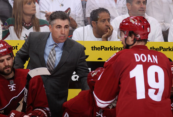 Doan and Tippett have worked extremely well together in leading a resurgent team to the playoffs the past two seasons