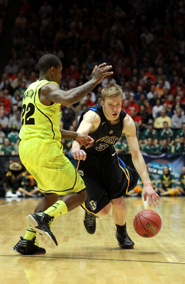 Nate Wolters led South Dakota State to its first-ever NCAA tournament last year, and the Jackrabbits are expected to win the Summit League again in 2012-13.