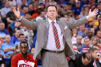 Mark Gottfried got NC State back to the NCAA tournament in 2012, when the Wolf Pack upset San Diego State and Georgetown to advance to the Sweet 16.