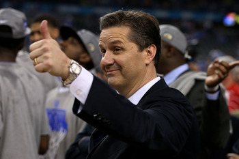 John Calipari won his first national title last season.