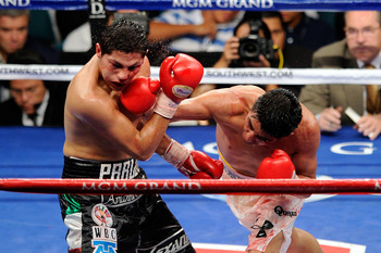El Terrible is the first and only Mexican born fighter to win world titles in four weight classes.