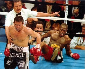 There was none better than Julio Cesar Chavez.