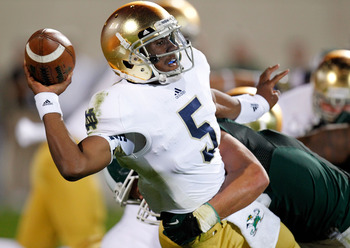 Irish quarterback Everett Golson was effective, but not spectacular, in win over Michigan State