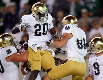 Notre Dame's Cierre Wood is one of the nation's top backs