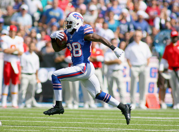 Spiller is averaging a ridiculous 10.1 YPC.