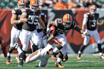 The Bills will face Trent Richardson and the Browns in Week 3.