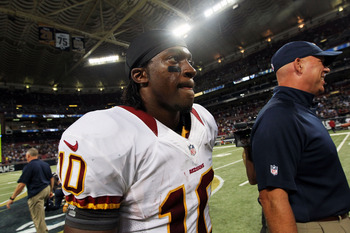 The Washington Redskins are a much improved team