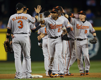 The Baltimore Orioles are still in the thick of the race for the AL East title.
