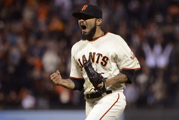 The San Francisco Giants are firmly in control of the NL West.