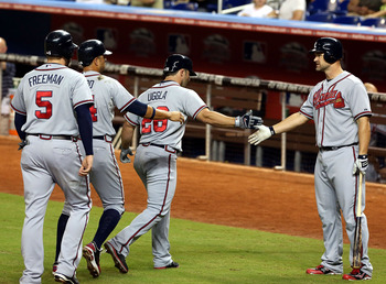 The Braves are rolling into the playoffs with the hopes of winning a title in Chipper Jones' final season.