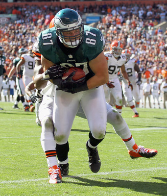 Celek is becoming as important to Philly's passing game as LeSean McCoy is to its running game.