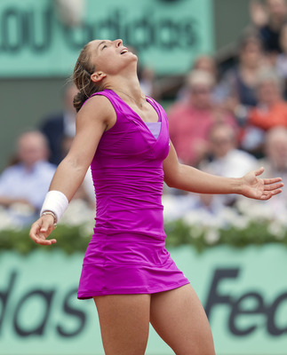 Sara Errani of Italy