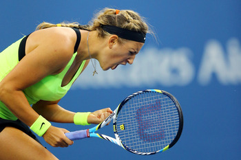 Victoria Azarenka of Belarus