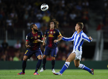 Real Sociedad had no real answer to Barcelona.