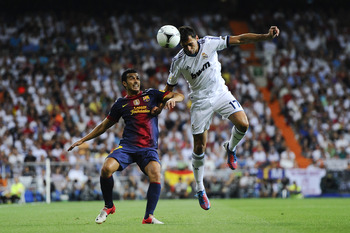 Madrid dominated Barcelona in the second leg of the Super Cup