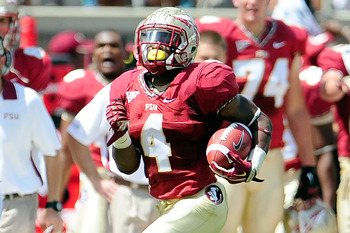 FSU RB Chris Thompson going &quot;Yahtzee&quot; against Wake Forest