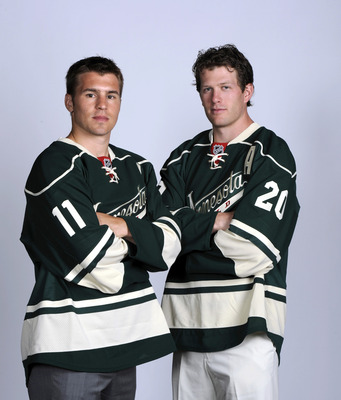 The Minnesota Wild will pay Zach Parise and Ryan Suter big-time salaries.