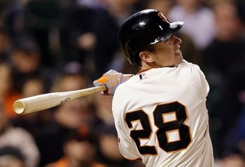 Buster Posey may move to the three spot if Josh Hamilton becomes a Giant.
