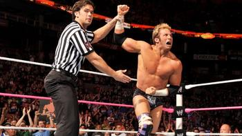 Zack Ryder emerges victorious in the pre-show battle royal.