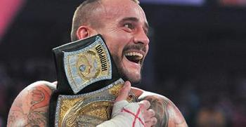 CM Punk maintains possession of his WWE Championship.