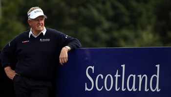 Colin Montgomerie never found success in the U.S.